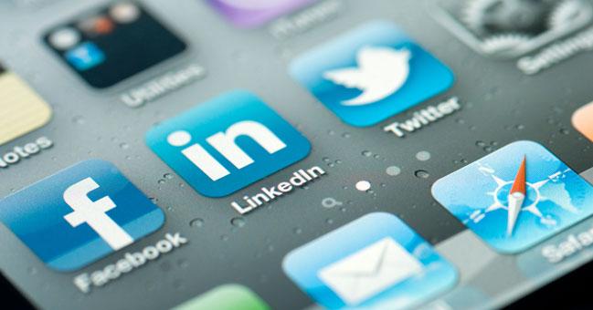lavoro con i social media
